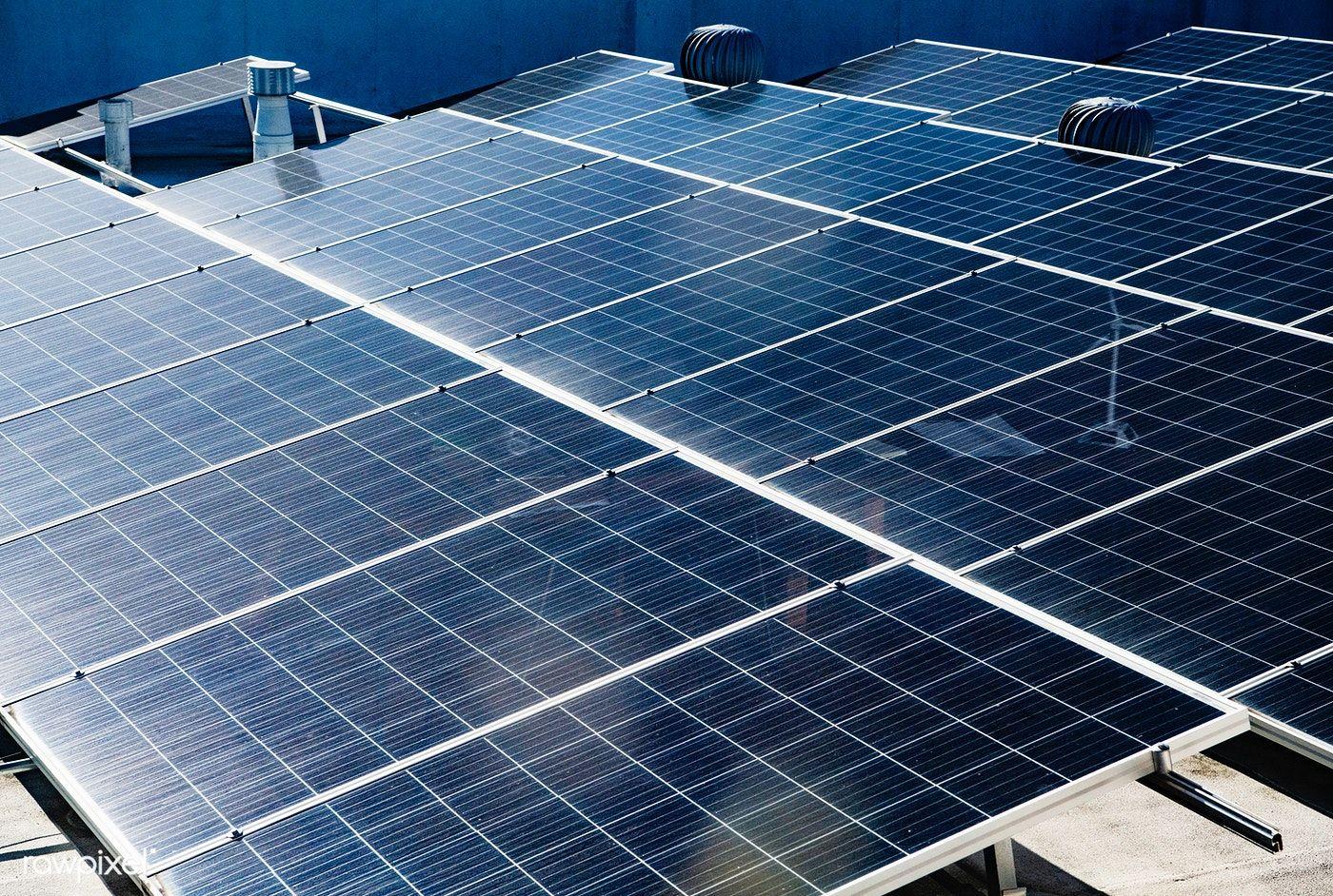 Closeup Of Photovoltaic Power Plants Free Image By Rawpixel Com Teddy Rawpixel Photovoltaic Solar Energy Diy Free Solar Panels