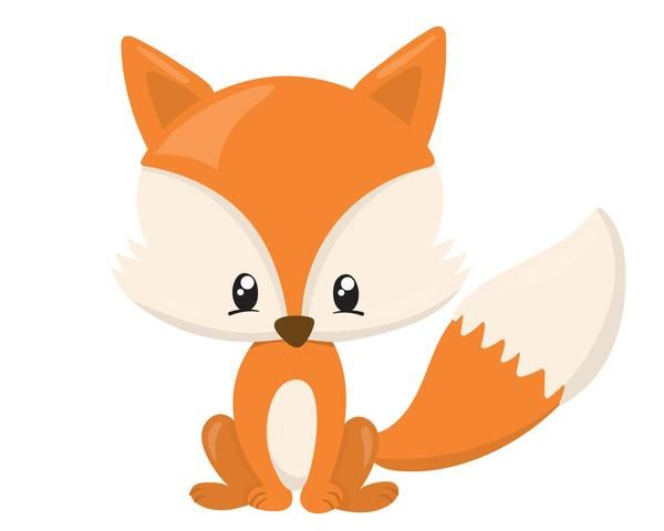 Fox Clipart Animated Baby Pencil And In Color Fox Clipart ...