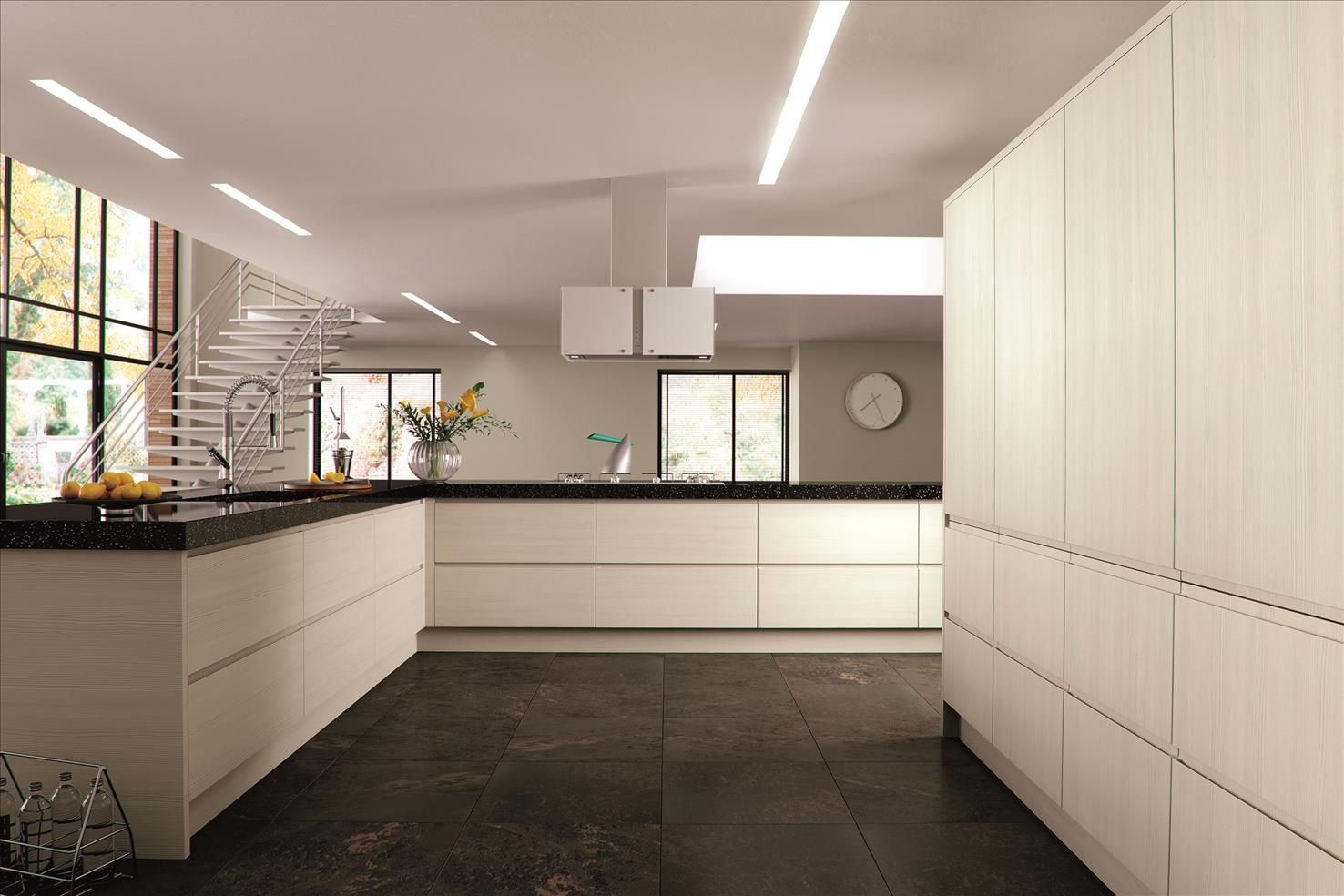 Best Avola Cream Knebworth With Images Contemporary Kitchen 400 x 300