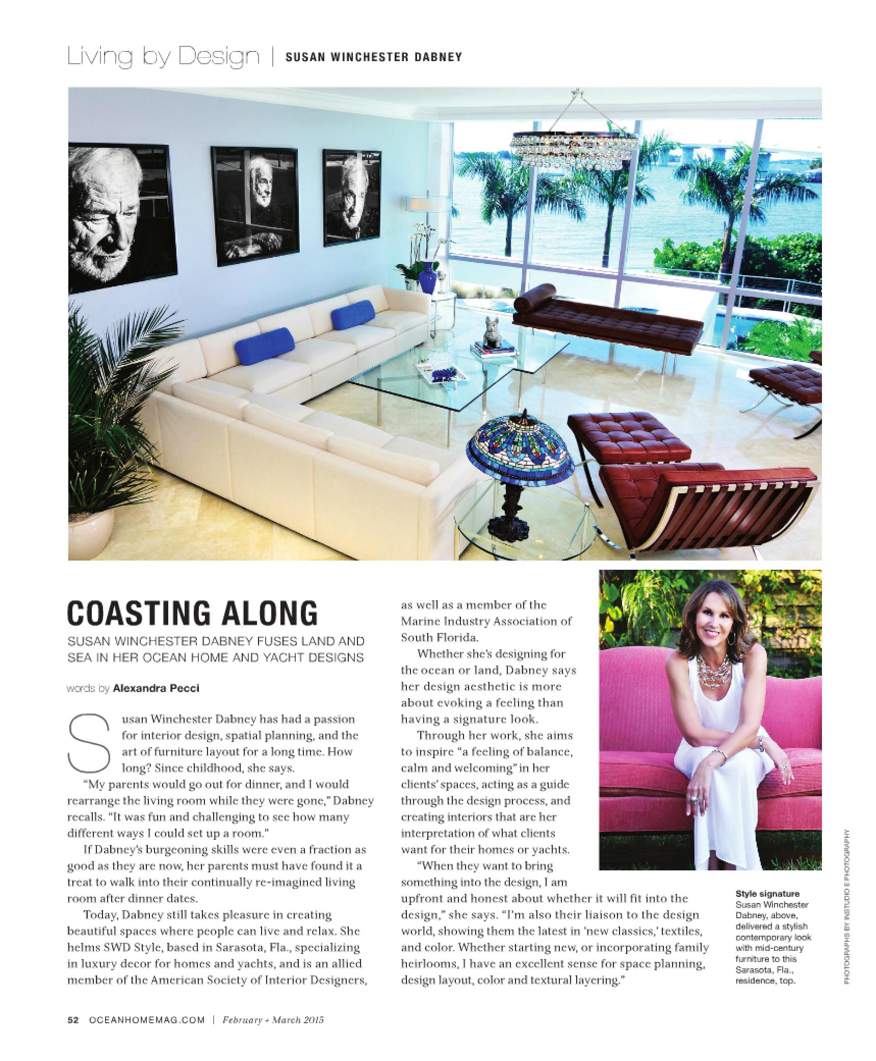 Ocean view condo living. Ocean Home Magazine March 2015 photos of ...