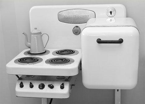 Space Saving 100 Years Ago Kitchen Appliances Vintage