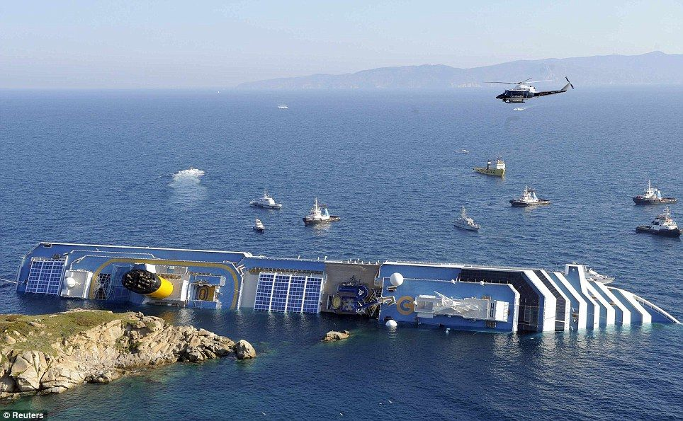 I Never Lost Hope Of Being Saved Trapped Survivor Airlifted To - Sinking cruise ship oceanos