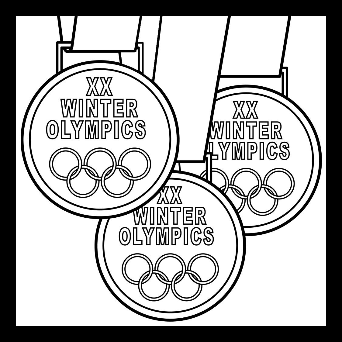 Coloring Pages Winter Winter Olympics Coloring Pages