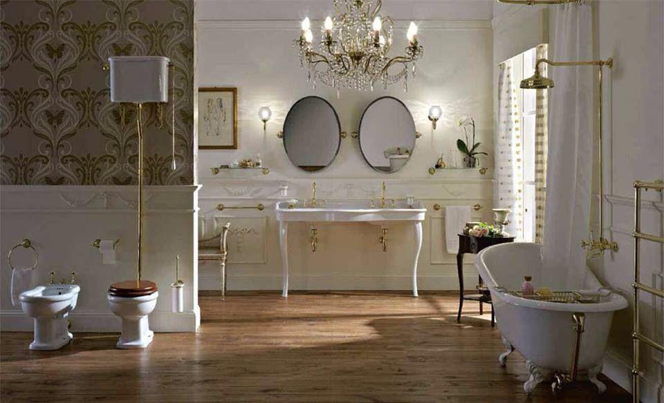 Nostalgie Badezimmer #armaturen #retrobad #nostalgie #faucets #traditional  #bathroom #badezimmer
