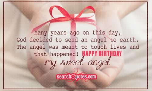 Happy Birthday For Sweet Little Girl Quotes Quotations Sayings