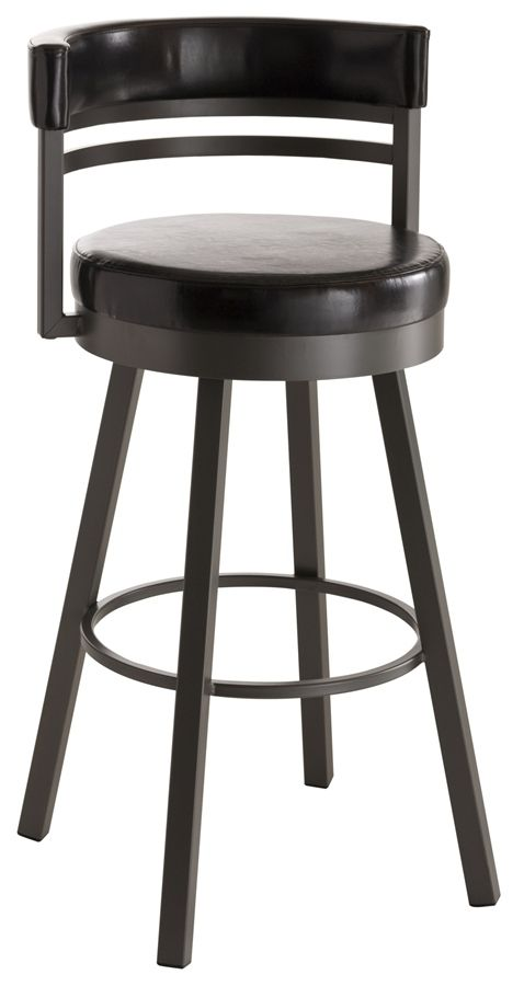 Nice Bar Stools That Have Back Support But Do Not Take A Lot Of Room Swivel Bar Stools Bar Stools Swivel Stool