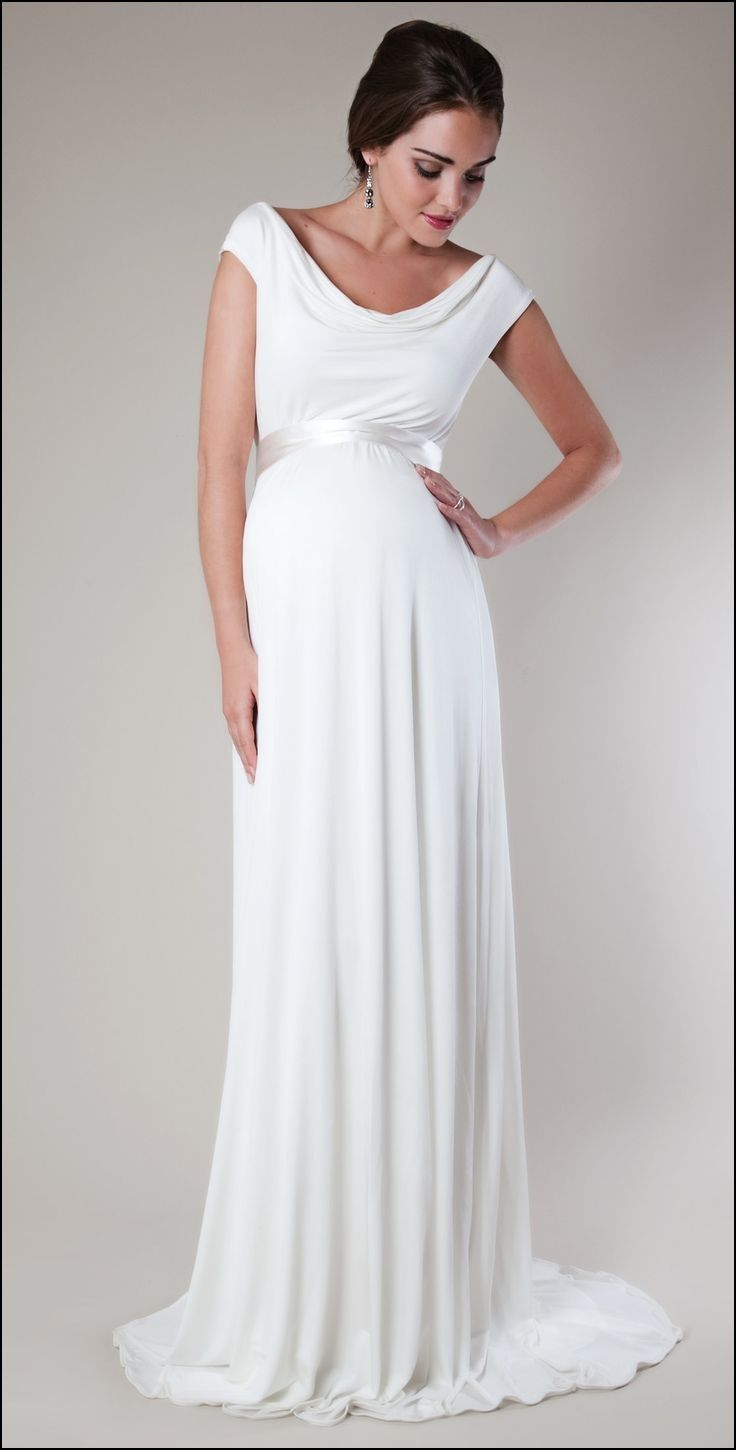 Wedding Gowns for Pregnant Brides | Dresses and Gowns Ideas ...