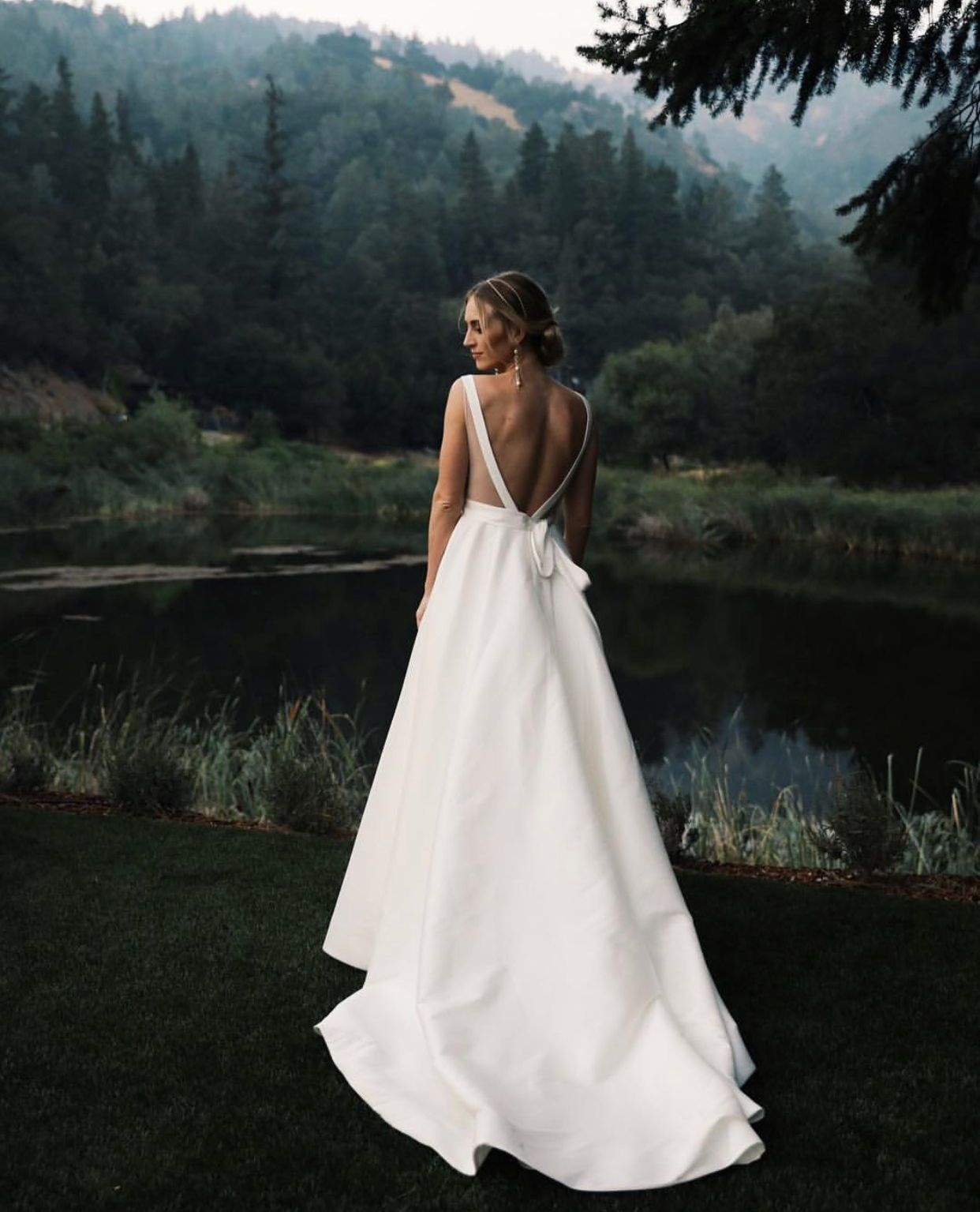 Flirty And Fabulous Introducing The Octavia Gown The Bhldn X Jenny Yoo Bridal Collection Is Ruffle Bridal Gown Wedding Dress Sash Wedding Dress With Pockets,Nice Long Dresses For Weddings