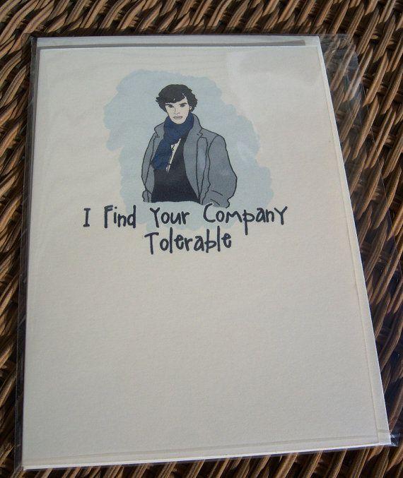 Шерлок холмс открытка, пожеланиями для гостевых