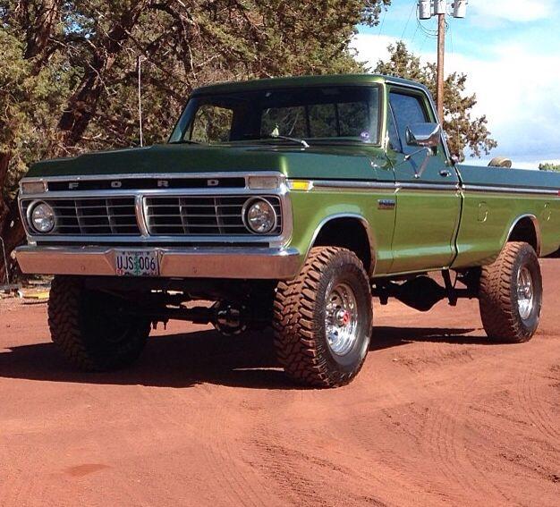 Dark Green Lime Green Two Tone Highboy Ford Trucks Classic