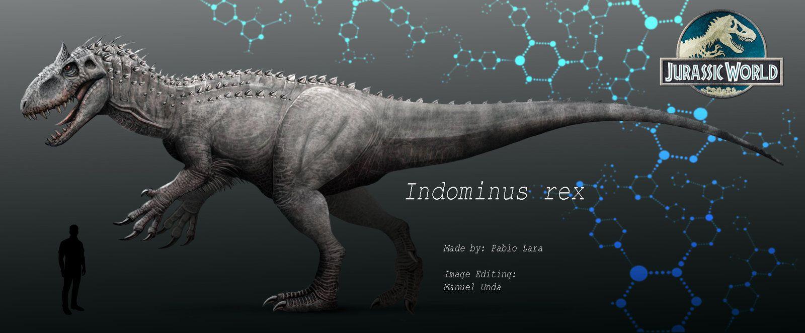 Jurassic World Indominus rex by MANUSAURIO.deviantart.com on @DeviantArt