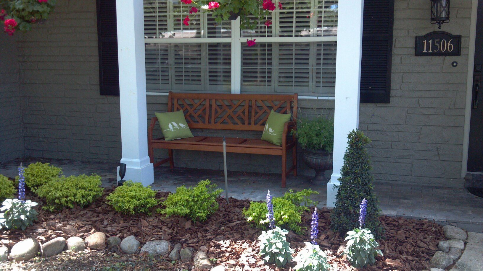 Front Porch Bench For The Home Pinterest