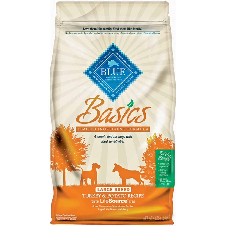 Blue Buffalo Large Breed Basics Limited Ingredient Formula Turkey
