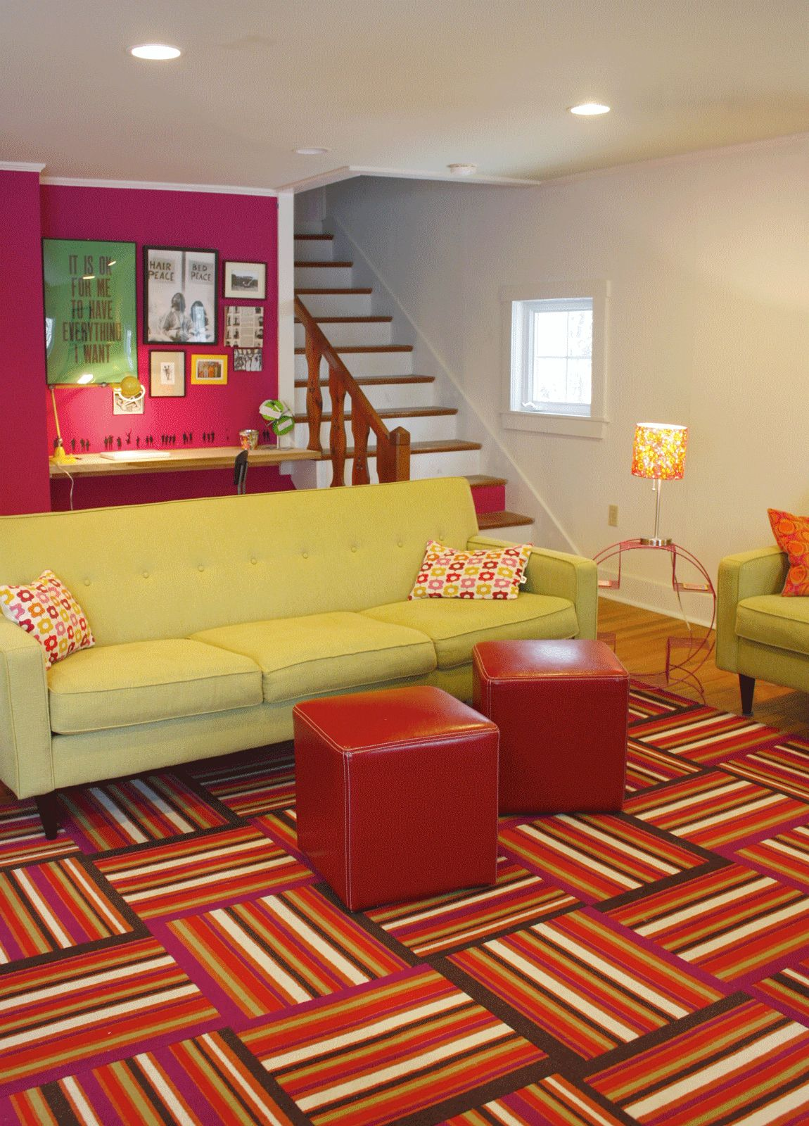 Paint colors that match this Apartment Therapy photo: SW 6062 Rugged ...