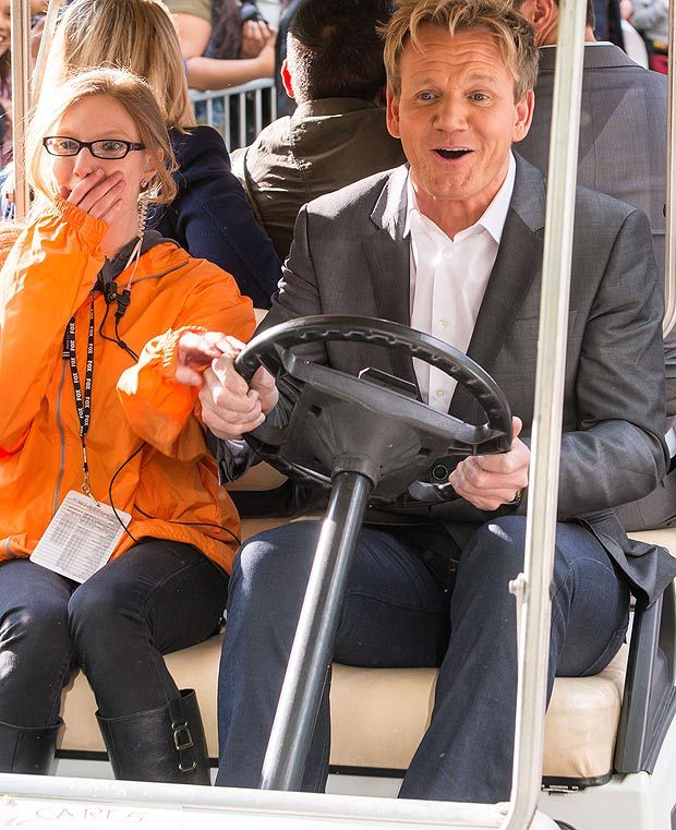 Gordon Ramsay's a la cart fun in New York's Central Park