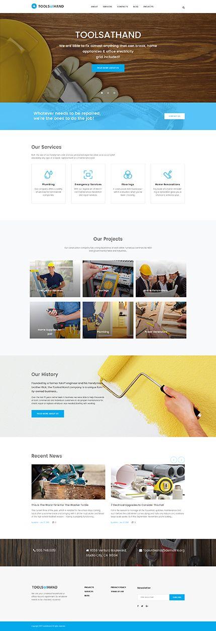 Most Popular #Maintenance Services #WordPress / Template #61221 - Web Design - Web design ...