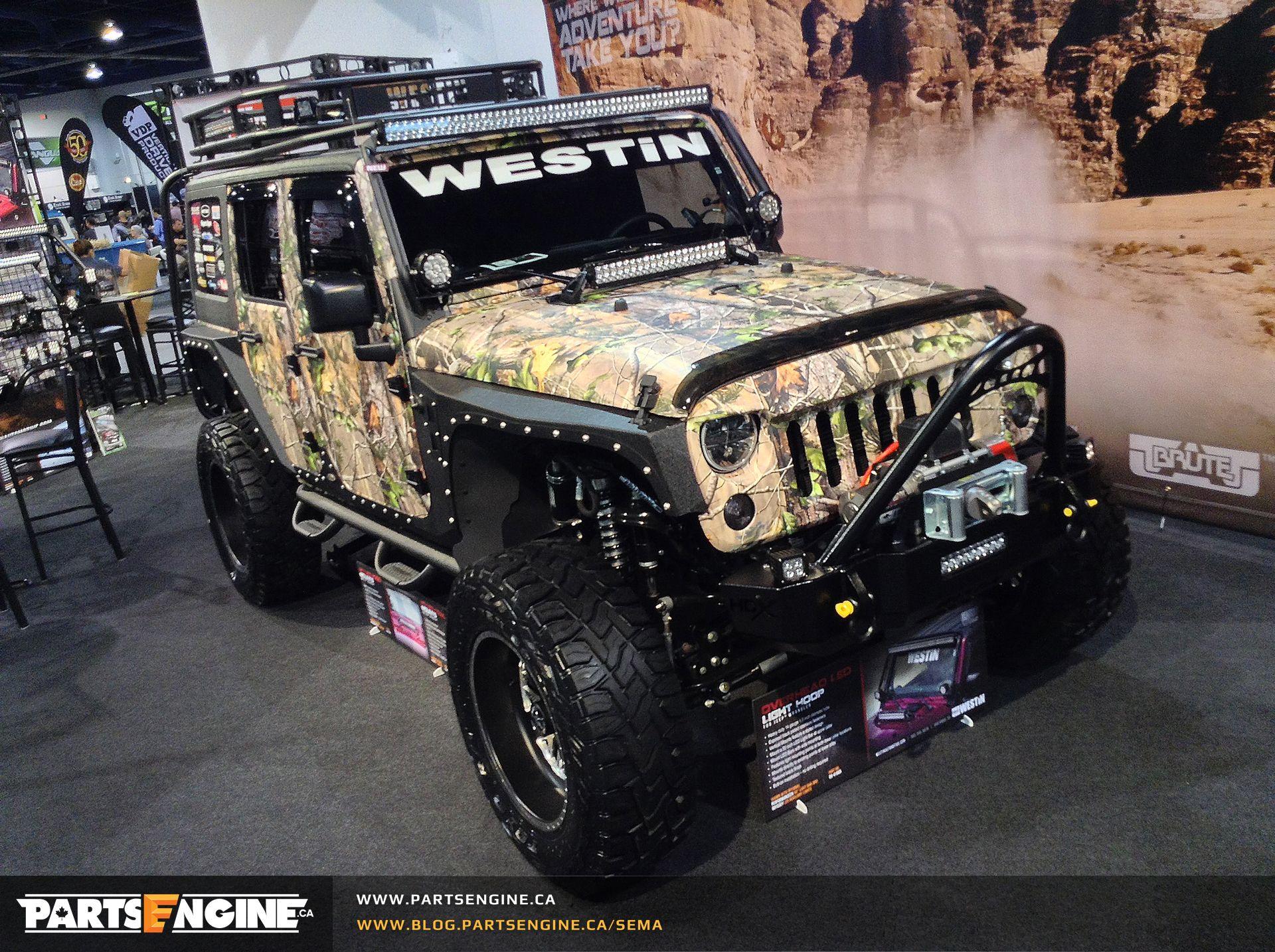 Jeep Wrangler Unlimited Westin Camo SEMA 2014