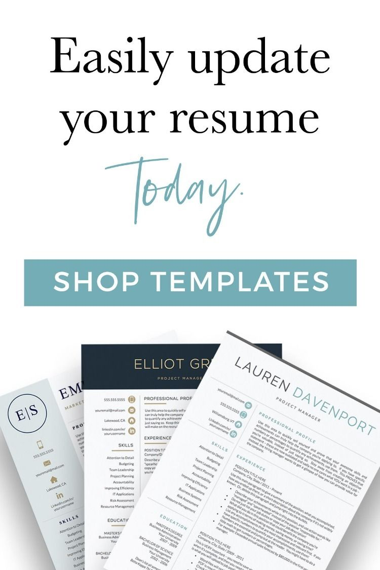 Easily refresh your resume for 2019 with a professionally