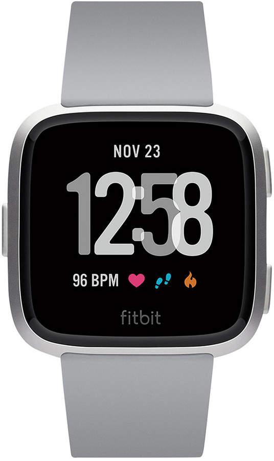 Fitbit Versa Gray Touchscreen Smart Watch 39mm Fitbit