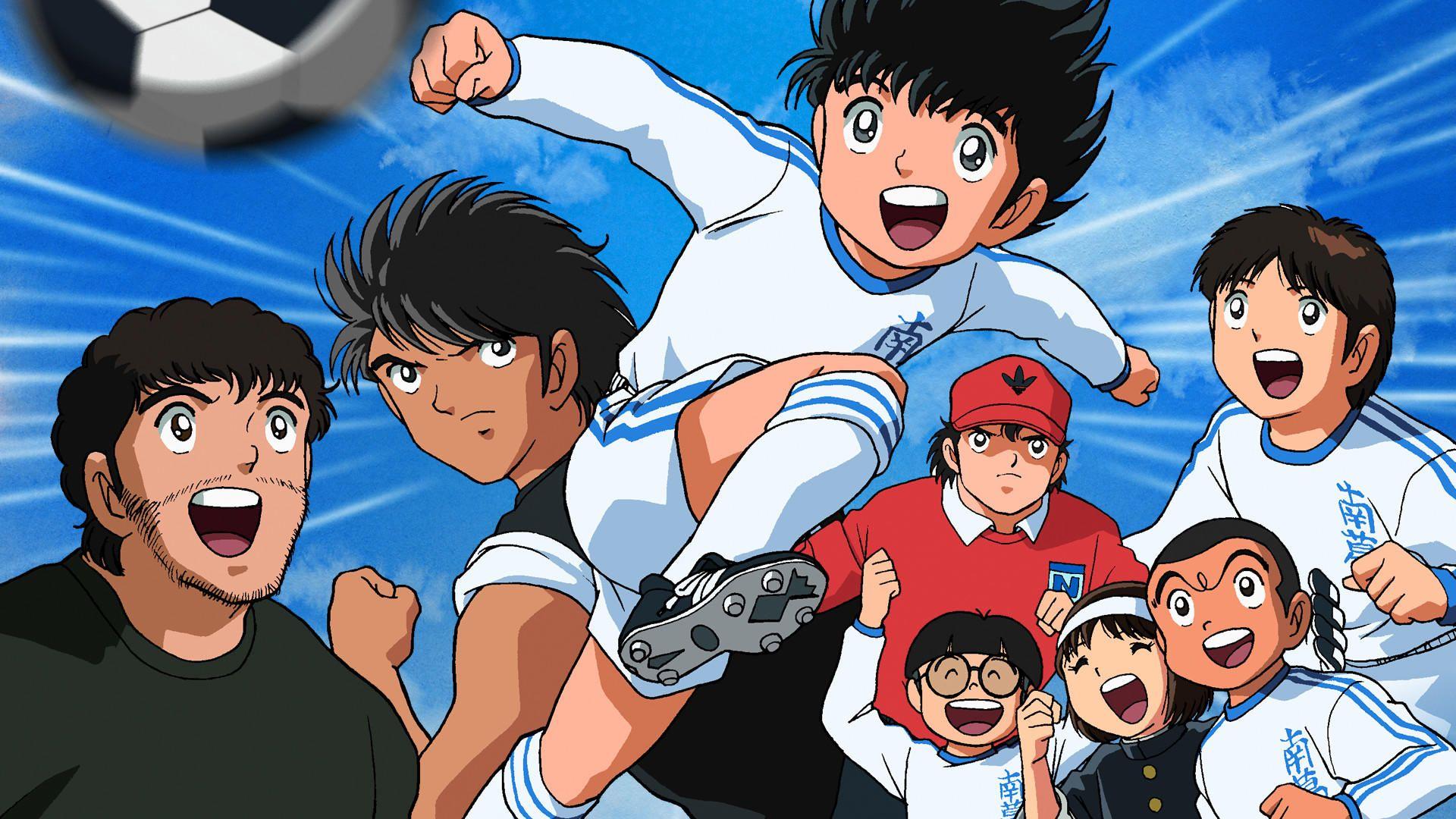 0a13330fab07a O remake do anime Captain Tsubasa