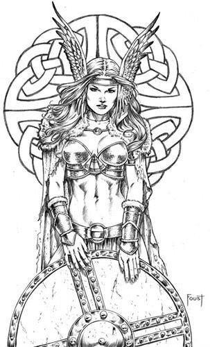 Valkyrie Tattoo Google Search Vikings Tatoo Tatuagem De