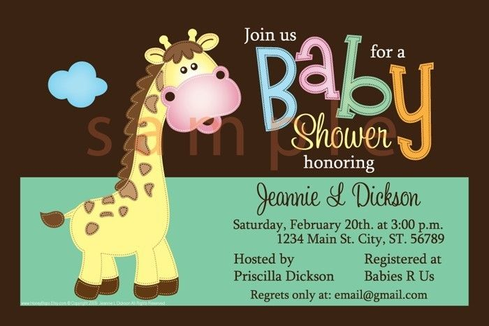 Awesome Baby Shower Email Invitations Free