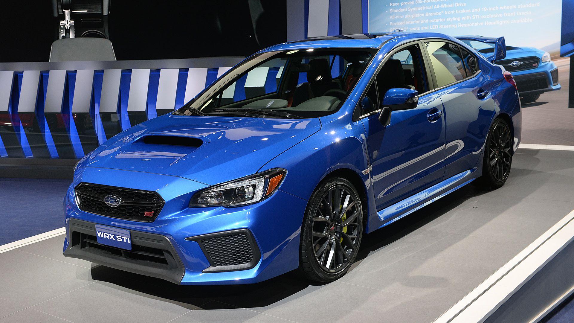2018 Subaru Impreza Wrx Sti
