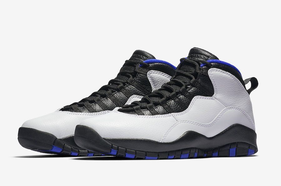 competitive price 09456 5ef16 Nike Air Jordan Retro X 10 Orlando 2018 White Black Royal ...