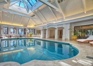 Luxurious Indoor Pool Inside Mansion | Outdoor Living | Indoor ...