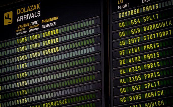 Zagreb Airport Zagreb Croatia European Tour