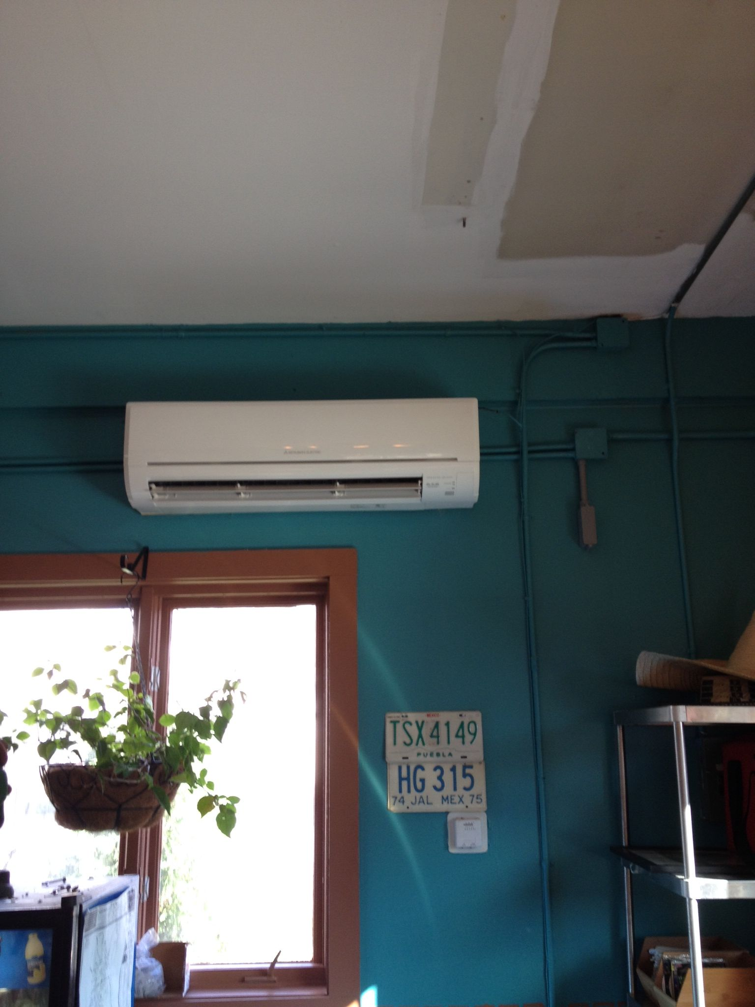 Mitsubishi Ductless Split wall unit. (With images) Wall