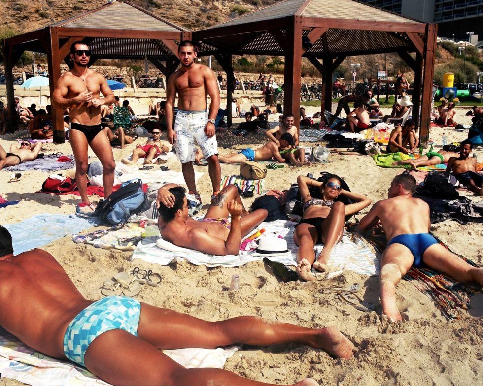 Гей пляжи тель авива