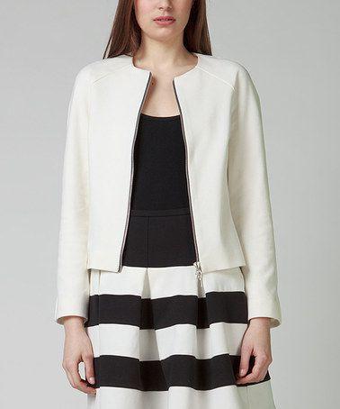 Look at this #zulilyfind! White Neva Jacket #zulilyfinds