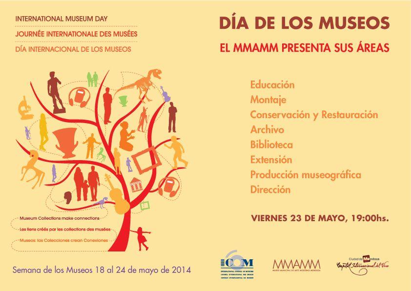 Presentación de las áreas del Museo   Día Internacional de los Museos. 23/05/14