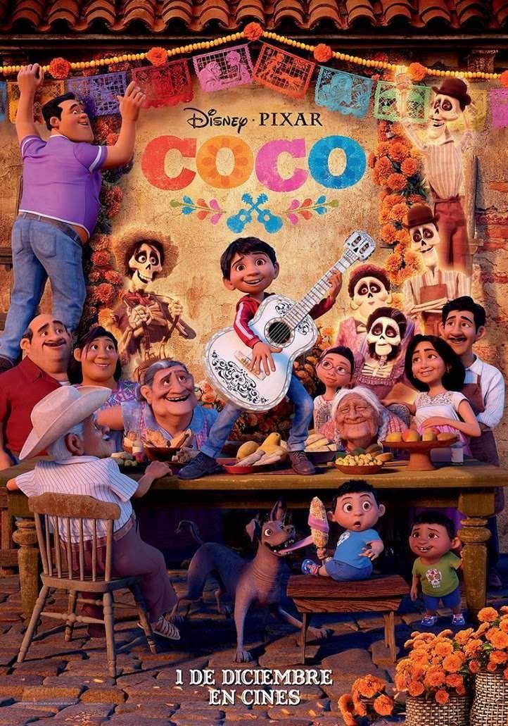 The Story Is Soooo Good But Coen S Got Freaked Out Over The Skeletons So He Stopped Watching Peliculas Infantiles En Español Coco Pelicula Películas De Pixar
