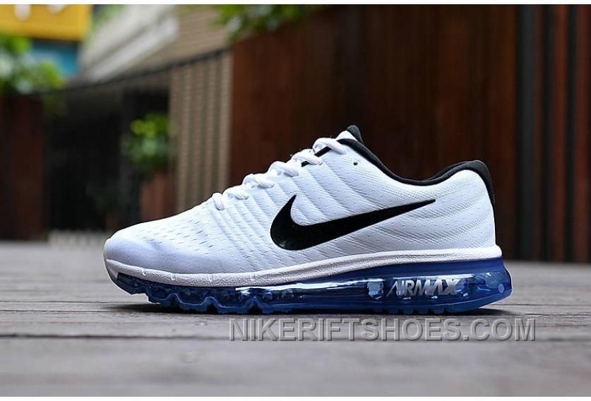 01d86bb4c97f3 Authentic Nike Air Max 2017 White Black Royal Blue New Release TzfzS,  Price: $69.72 - Nike Rift Shoes