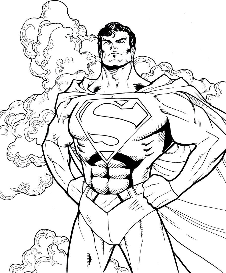 Printable Superman Coloring Pages Idea Superhero Coloring Pages Avengers Coloring Pages Superhero Coloring