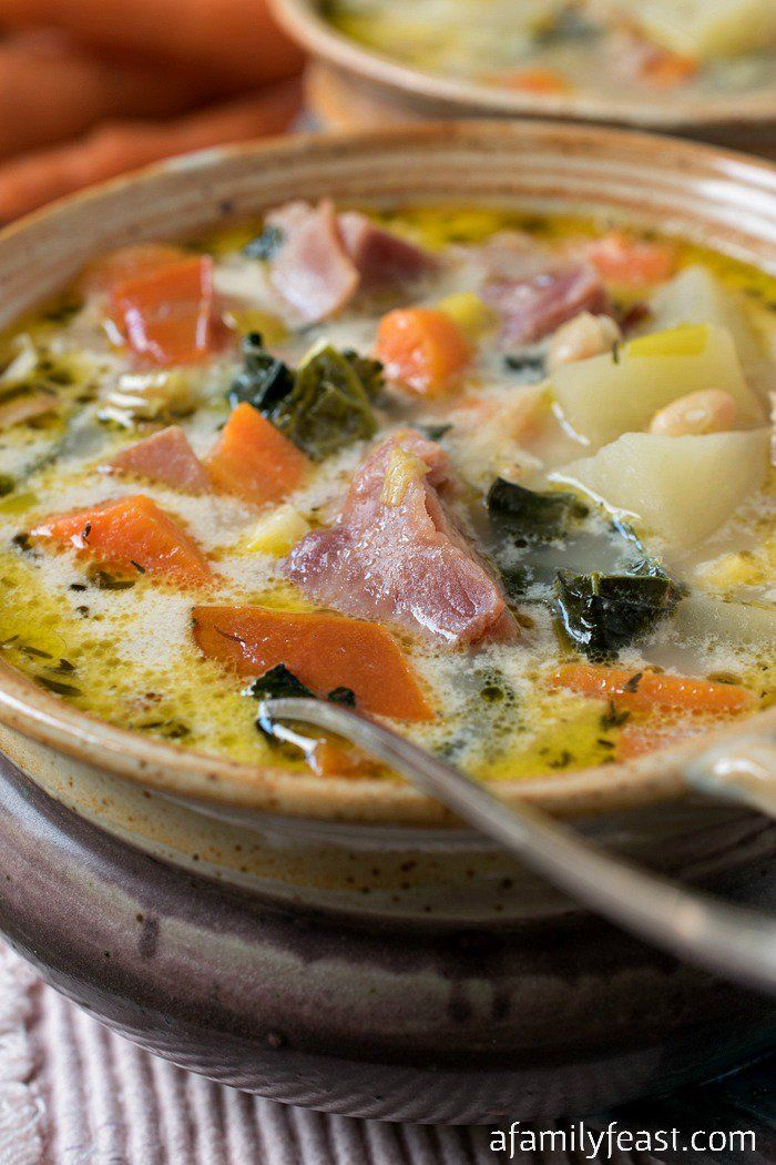 Ham and Vegetable Soup - A Family Feast®