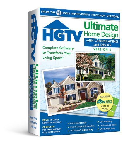 Hgtv Ultimate Home Design With Landscaping Decks 30 On Sale Check It Out Home Design Software Home Construction Cost House Design