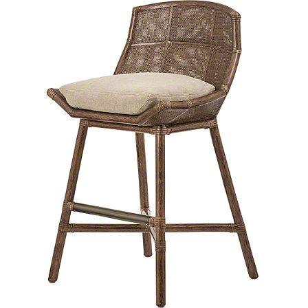 Mcguire Furniture Laura Kirar Maketto Counter Stool No O 531n