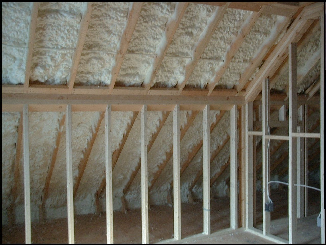 I Know It Will Be Black Or Grey But I Really Don T Like This Look If It Is The Only Option Tha Diy Spray Foam Insulation Foam Insulation Diy Foam Insulation