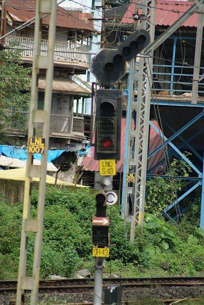 Lonavala Station - A Signal   Lonavala, Western Ghats