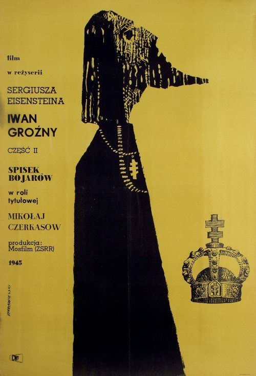 Polish Poster Iwan o Terrivel