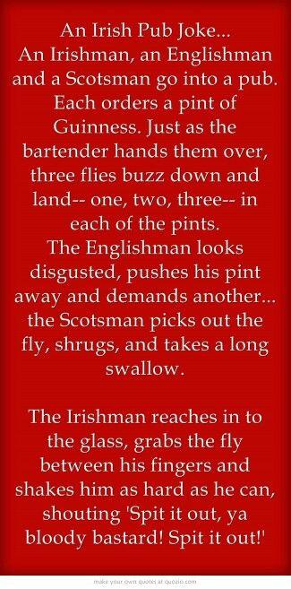 A Little Irish Humor Irish Funny Irish Jokes Irish Quotes