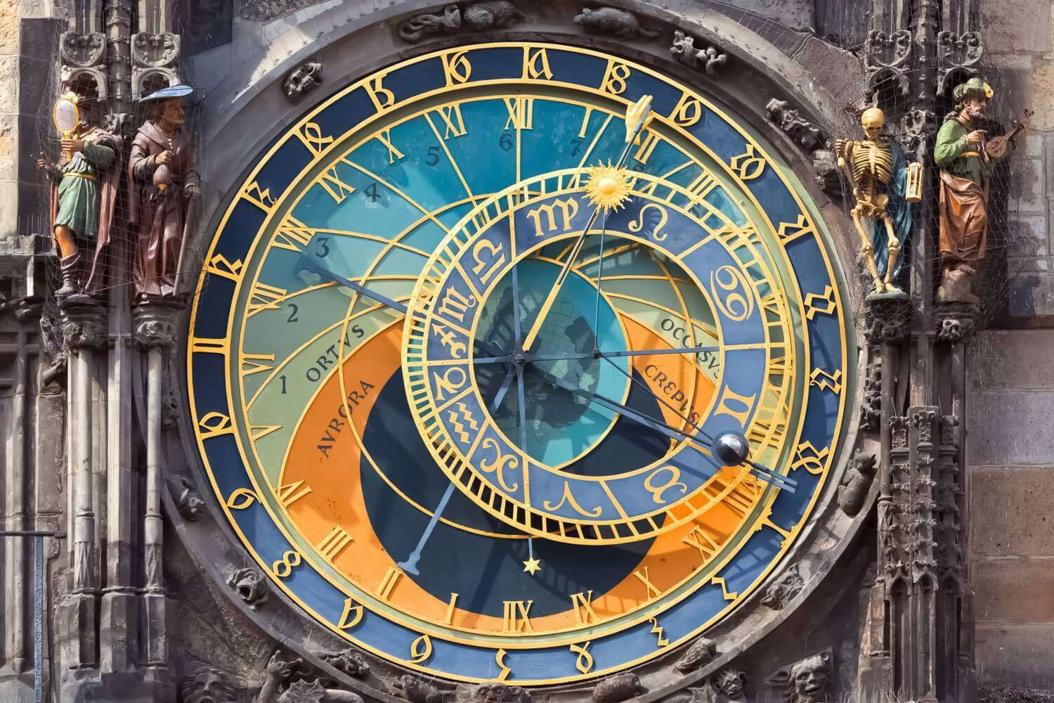 A picture of an astronomical clock