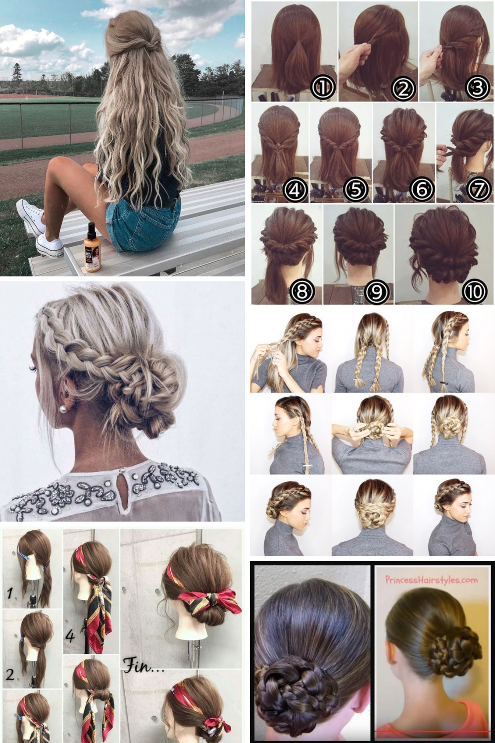 23 Easy Tips For Easy Hairstyles Collection Easy Hairstyles Simple Prom Hair Hair Styles