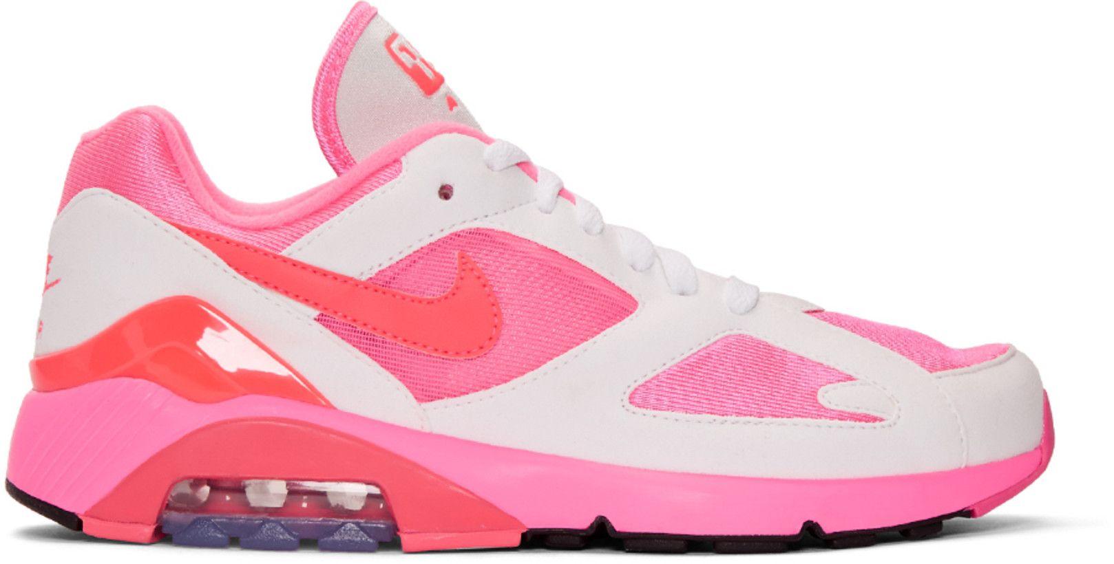 Comme des Garçons Homme Plus - White & Pink Nike Edition Air Max ...