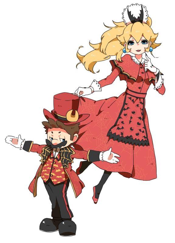 Bowsette Pixiv Kgo Mario Fan Canon Anime Art Fan Art