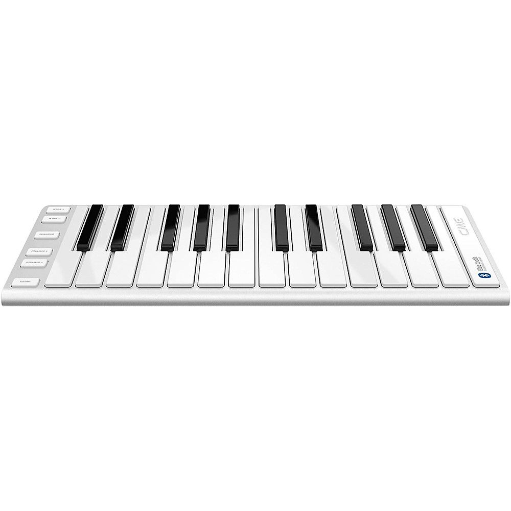 Xkey Air Wireless Bluetooth Mobile Keyboard Controller Silver 25 Key Midi Keyboard Keyboard Easy Piano