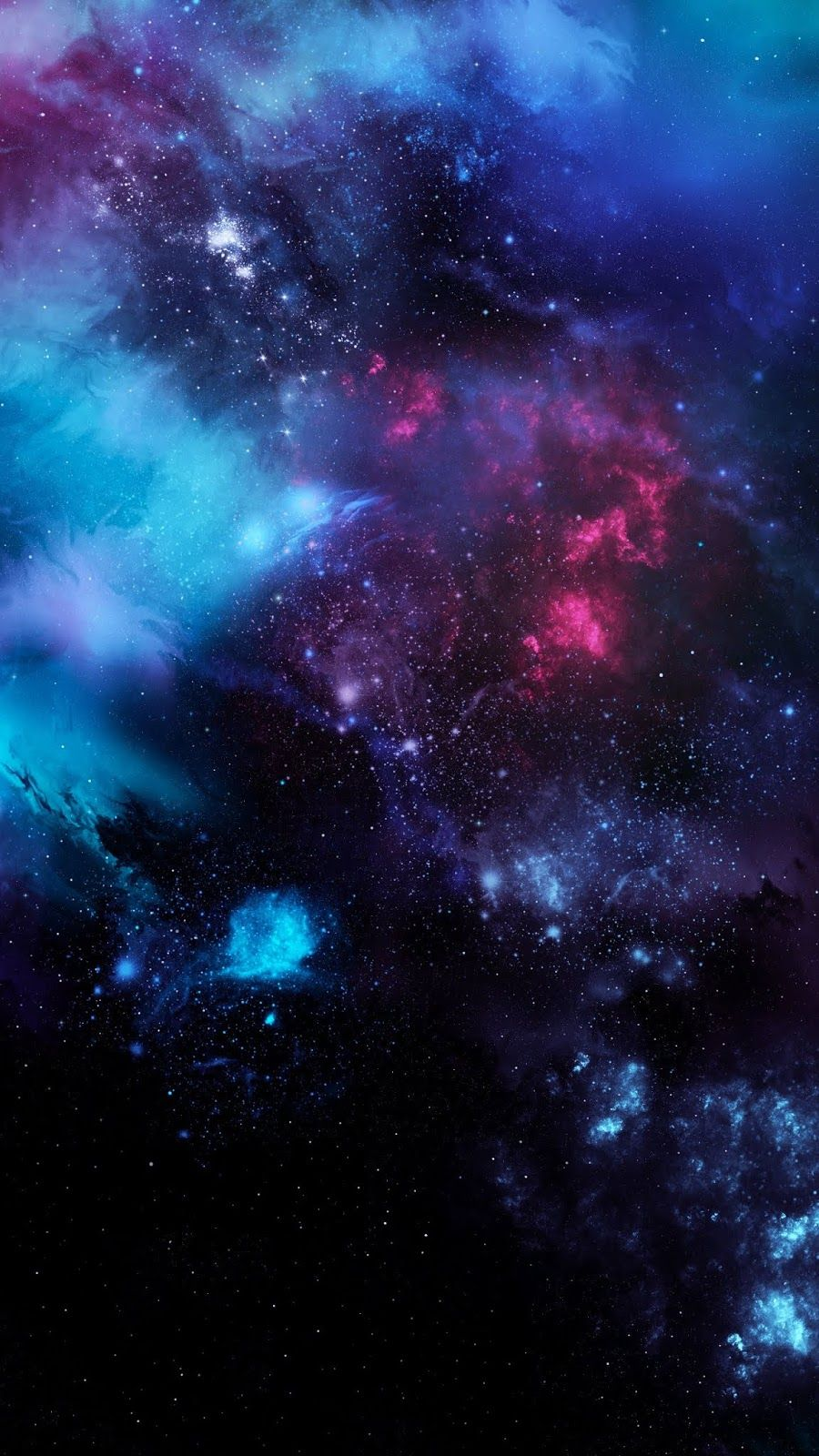 Space Wallpaper For Amoled Display Galaxy Painting Wallpaper Space Galaxy Wallpaper
